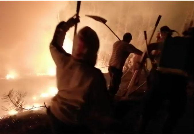 As CMVMC de Ponteareas e Arcos lamentan que Medio Rural falte á verdade respecto ao incendio de Bugarín