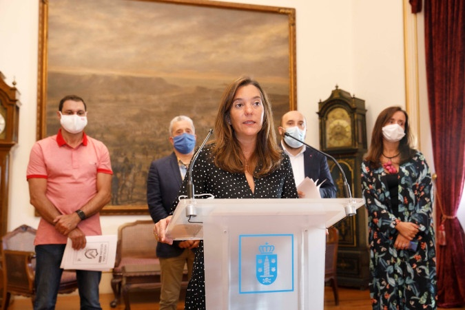 O concello da Coruña intensifica o seu apoio á hostalería, ao pequeno comercio e á cultura