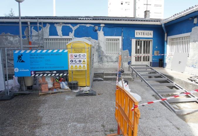 A Concellería de Benestar Social da Coruña realiza obras de mellora na sede de Utaca