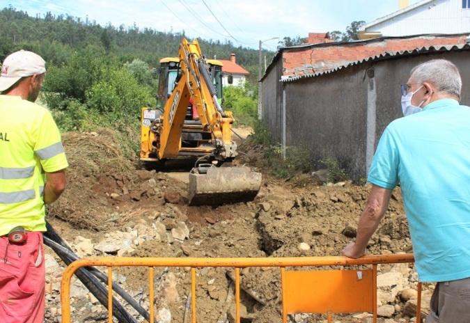 En marcha obras por 2,5 millóns de euros en Carballo