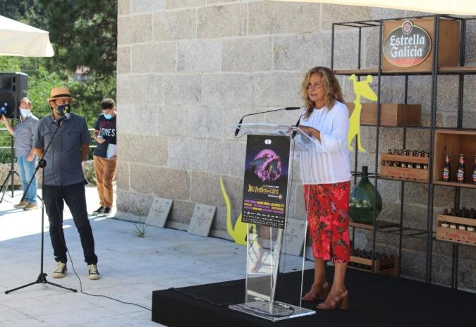 Carmela Silva enxalza no Porriño o papel do festival de Cans