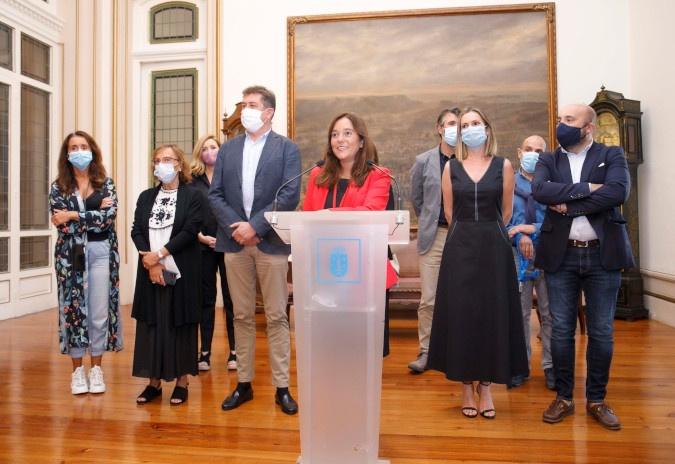 """Inés Rey reestrutura o goberno da Coruña """"para sumar e unir na resposta á crise"""""""