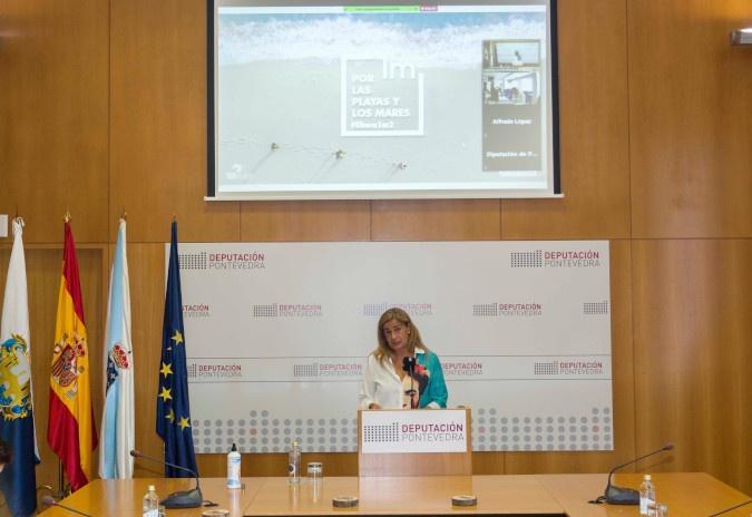 """A Deputación de Pontevedra súmase á campaña """"1M2 por praias e mares"""" do proxecto Libera"""