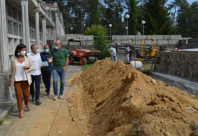 A piques de rematar a mellora do Cemiterio Municipal de Torroso en Mos