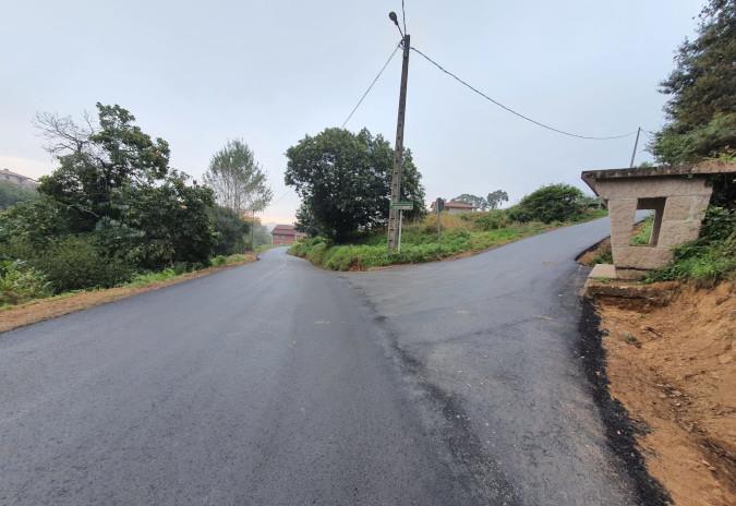 Porriño executa a mellora de camiños rurais municipais na parroquia de Chenlo