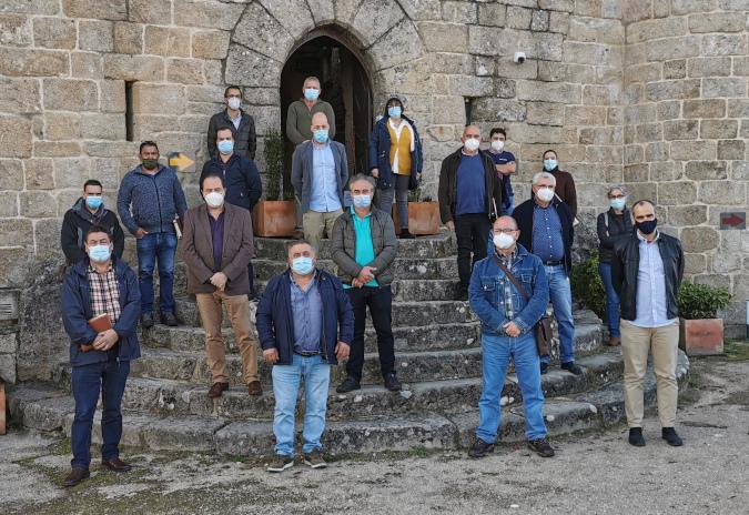O Castelo do Sobroso acolle unha histórica xuntanza das Entidades Locais Menores de Galicia