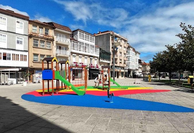 Ponteareas destina máis de 200.000 euros en parques infantís