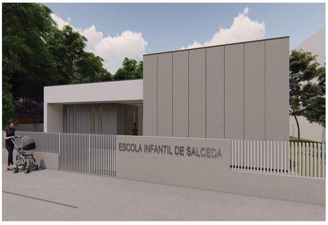 Salceda de Caselas aproba a construción da súa segunda escola Galiña Azul