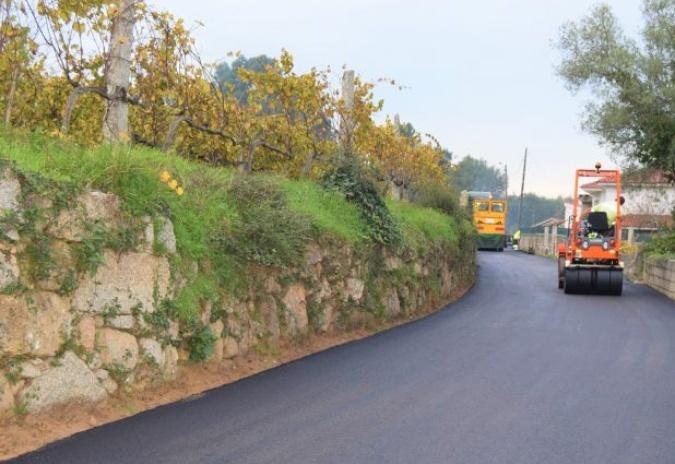 Obras de saneamento na freguesia de Longos Vales em Monção