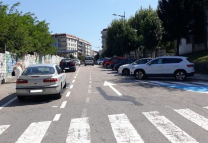 Concello explica os motivos das obras no casco urbano de Ponteareas