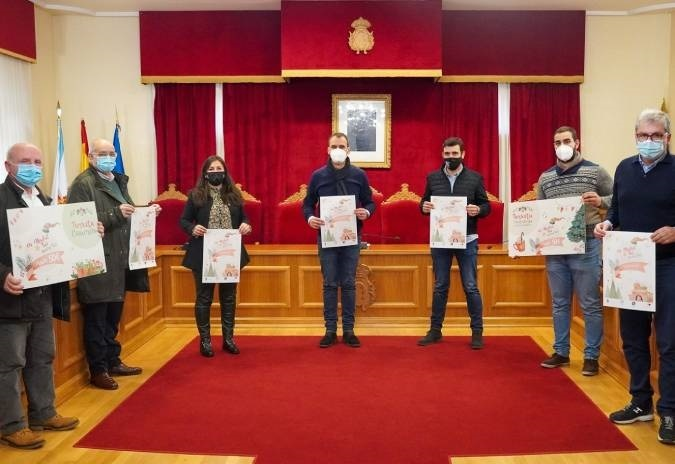 """Concello e empresarios promoven a campaña """"En Nadal Tui QuereTui"""""""