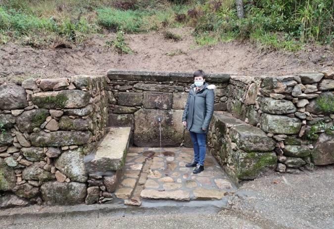 Concello do Rosal recupera a Fonte de Martín