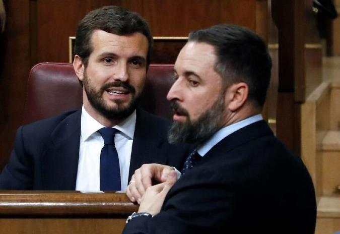 PP e VOX: a batalla polo relato dunha España sen liberdades
