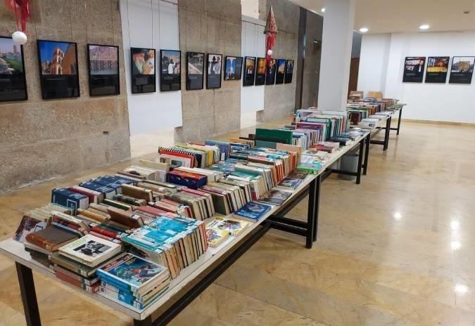 Mercadiño de libros solidarios de Tui