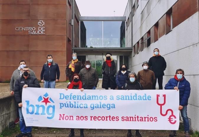 BNG Val Miñor esixe melloras nos servizos sanitarios
