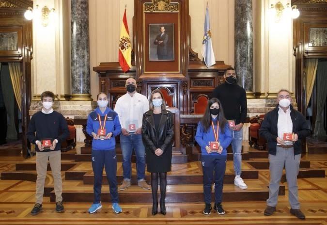 A Coruña homenaxea as súas campioas e campións deportivos