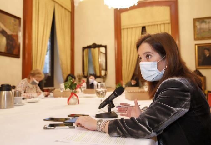 Inés Rey ofreceu balance do seu goberno na Coruña