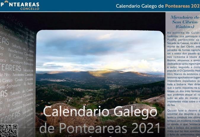 O Concello difunde para a súa veciñanza o Calendario Galego de Ponteareas