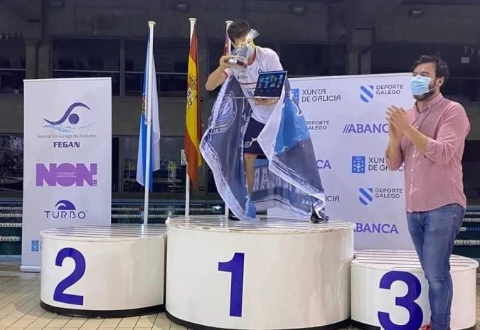 Club Natación Ponteareas, campión galego na clasificación conxunta