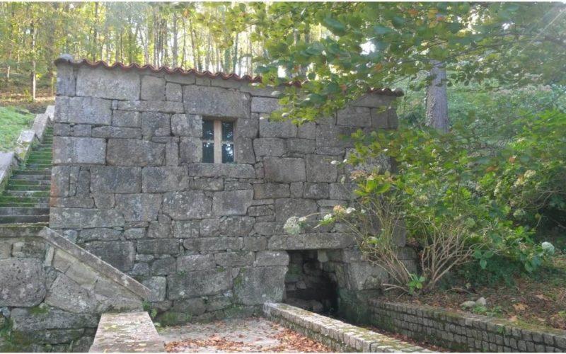 Deputación de Pontevedra inicia obras de recuperación do muíño de auga no Castelo de Soutomaior