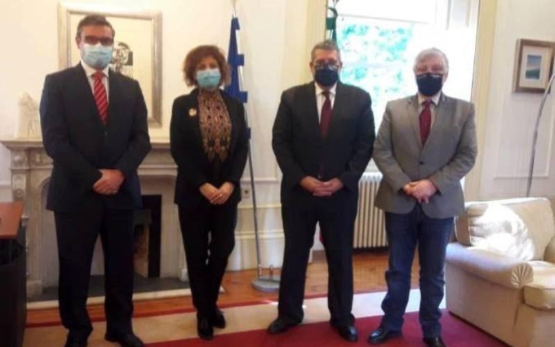 Tomiño e Cerveira presentan a Eurocidade á nova presidencia da CCDR-N