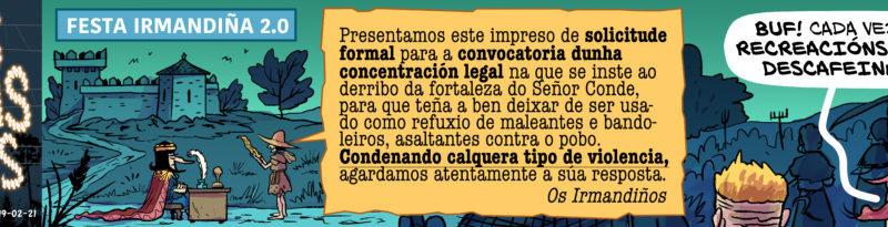 Chas Carras Chas – Irmandiños 2.0