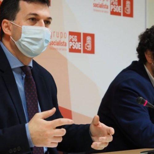 """Caballero acusa a Feijóo de """"complicidade"""" no caso de vacinación irregular da delegada de DomusVi"""