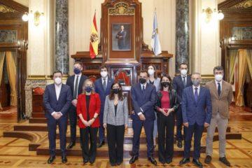 Concello da Coruña avanza no desbloqueo do tren da Lagosteira e a débeda do Porto