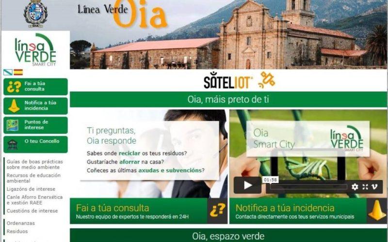 Concello de Oia soluciona o 95% das súas incidencias grazas á App. Línea Verde