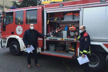 Equipo de excarcelación para o Servizo de Bombeiros de Ourense