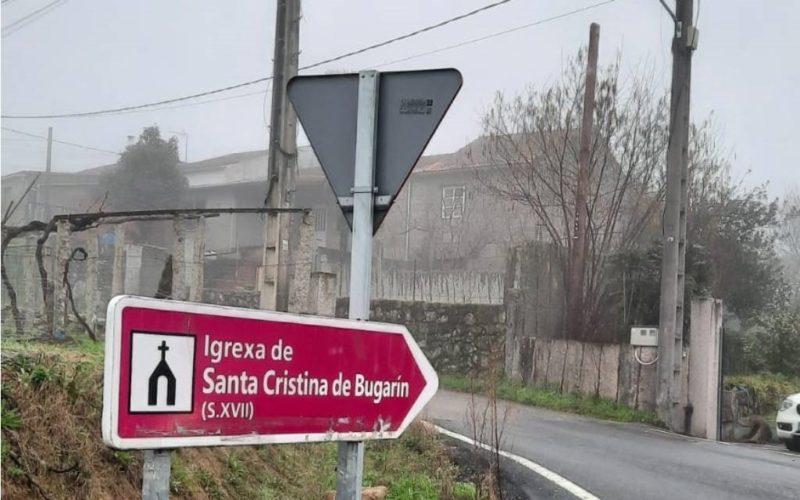 PP Ponteareas solicita melloras nas obras da subida a Santa Cristina de Bugarín
