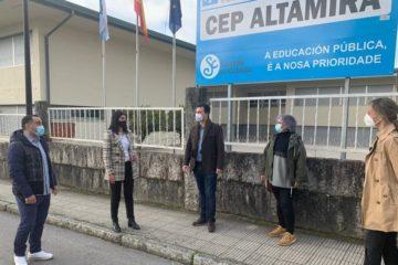PSdeG Salceda pide á Xunta reforzar a infraestrutura educativa local