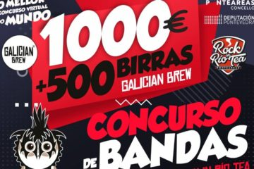 """Concurso de Bandas Galician Brew – Rock in Río Tea """"1000 Euros e 500 birras"""""""