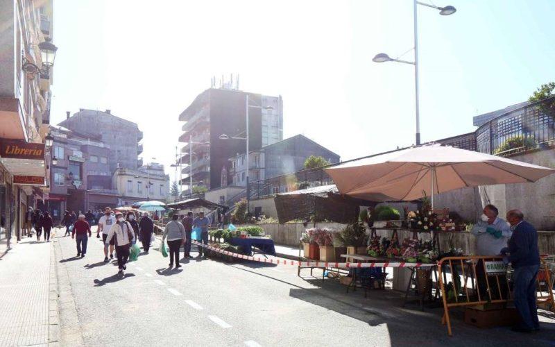 Reanúdanse as feiras e mercados en Ponteareas