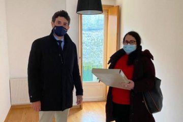 A Xunta entrega dúas vivendas de promoción pública en Vilalba