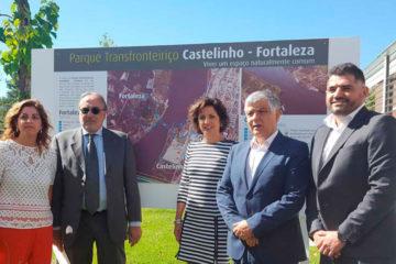 Parque da Amizade Cerveira-Tomiño apresentado ao delegado do Governo espanhol