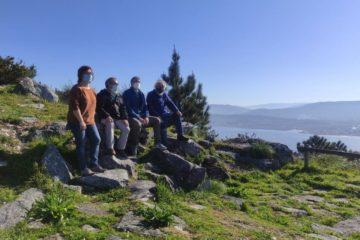 O Parque Forestal de Camposancos na Guarda permitiu por en valor o monte Santa Trega