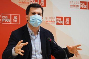 """Gonzalo Caballero: """"os socialistas cumprimos cunha rebaixa da AP-9"""""""