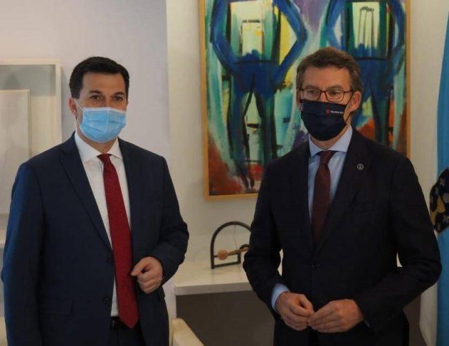 Gonzalo Caballero propón 12 pactos para enfrontar os retos de Galicia