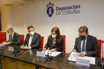 A Coruña reforza o convenio PRESCO coa Deputación, Santiago e Ferrol