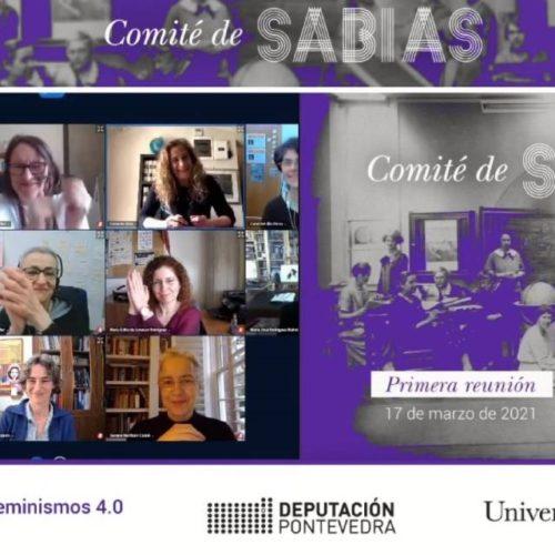 Primeira reunión do Comité de Sabias da Deputación de Pontevedra e UVigo