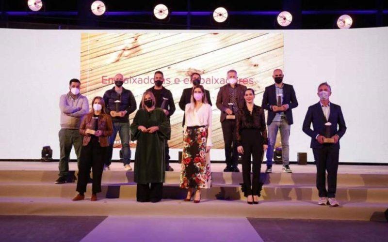 """Deputación de Pontevedra homenaxea aos """"embaixadores das Rías Baixas"""""""