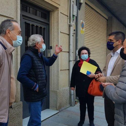 A Xunta financia no Carballiño as obras de conservación e mellora de vivendas