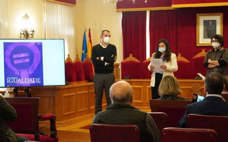 Tui presentou o seu III Plan Municipal da Igualdade