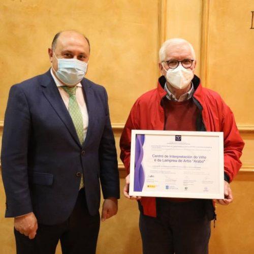 O Museo Arabo en Arbo recibe un ano mais o distintivo SICTED