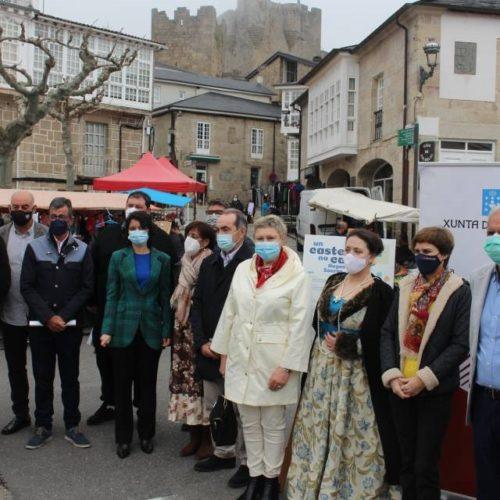 A agrupación de municipios Camiño de Augas Sacras presentouse en Castro Caldelas
