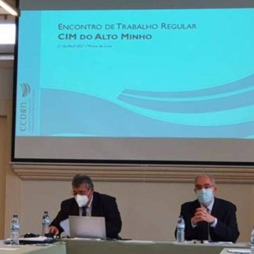 CIM Alto Minho e CCDR-N debatem o futuro da Região Norte de Portugal