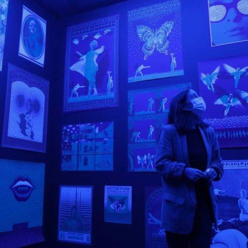 """Inaugurada a exposición """"Moscoso Cosmos: O universo visual de Victor Moscoso"""""""