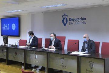 O Plan Único da Deputación da Coruña alcanza os 90 millóns de euros