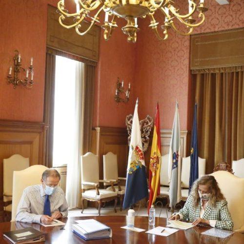 Deputación de Pontevedra pon en marcha a primeira fase da mobilidade peonil na EP-3303 Tabagón-Goián